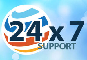24X7-support