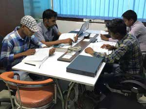 UniNets students at silent study zone