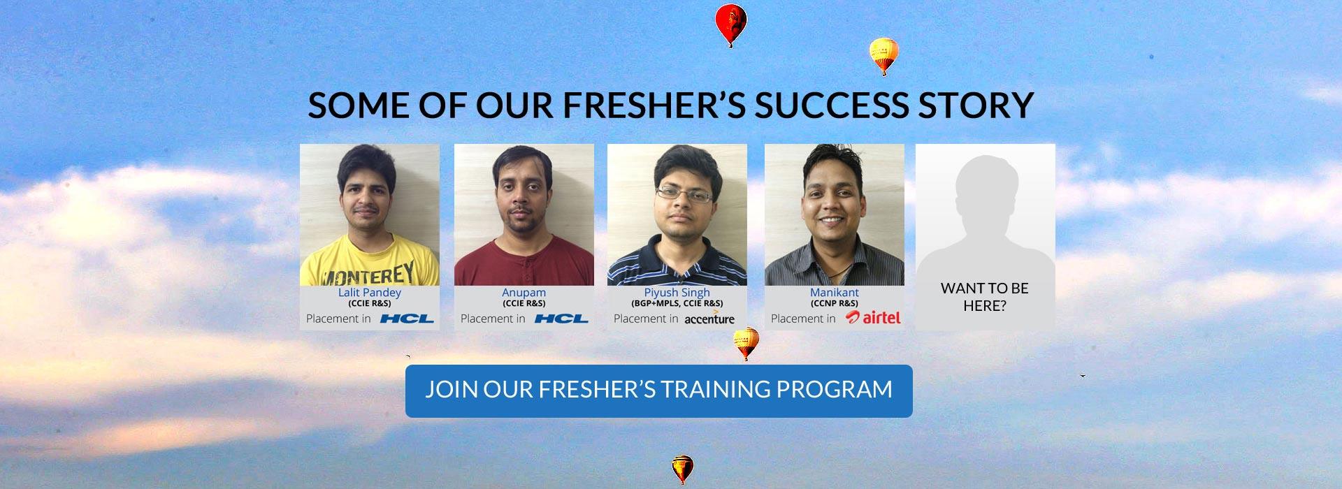 Fresher's Training Program